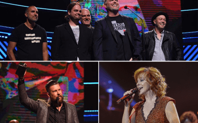 MercyMe and Zach Williams Take Home Top Awards at the 48th Annual GMA Dove Awards