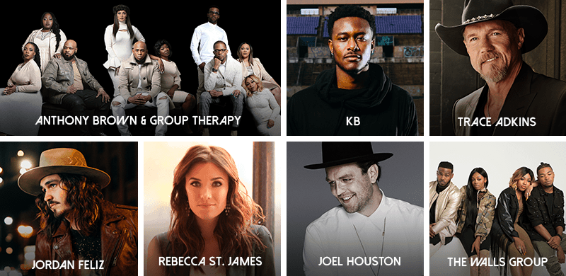 GMA Rounds Out Talent Lineup for the 49th Annual GMA Dove Awards