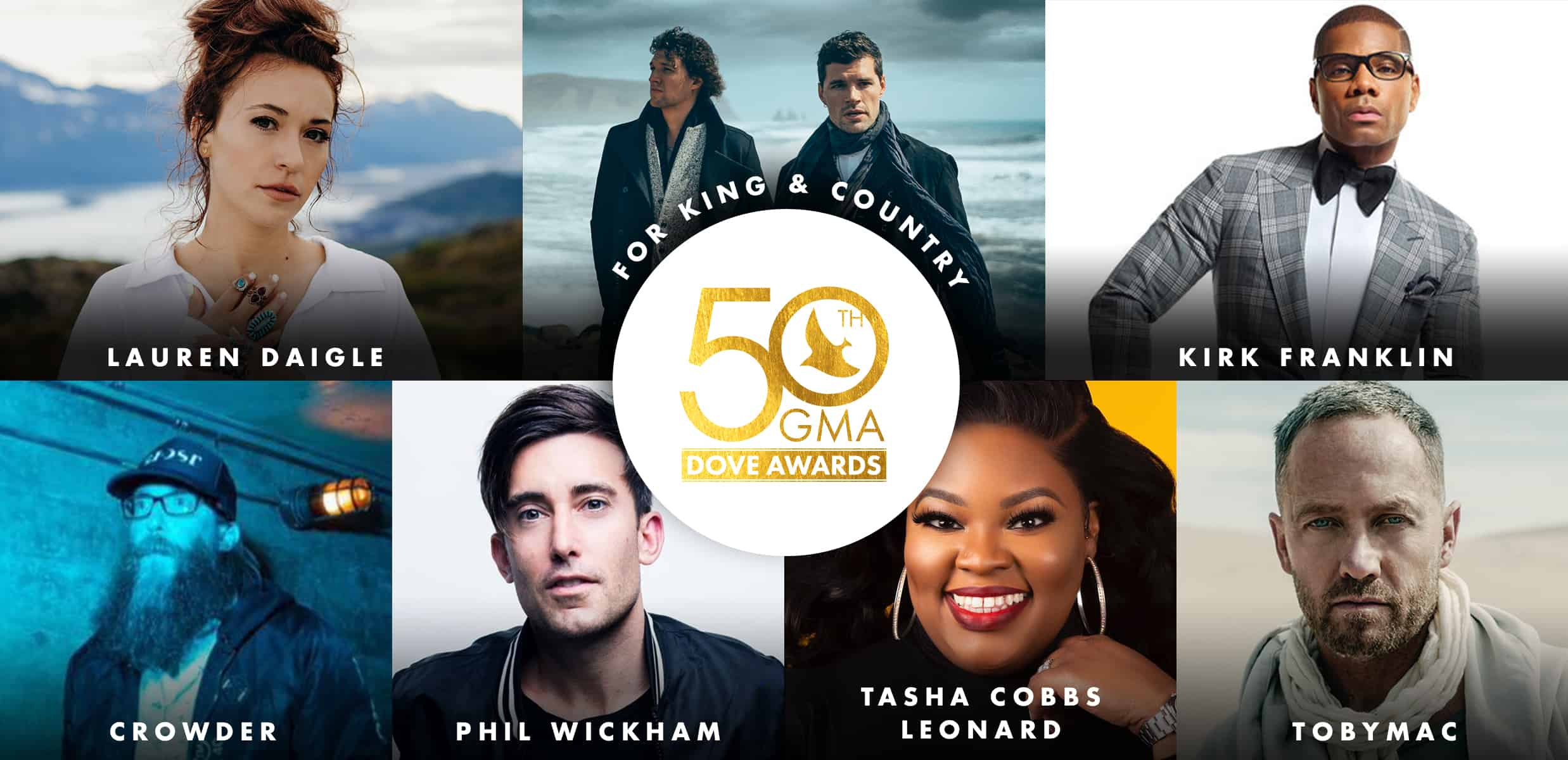 The 50th Annual GMA Dove Awards Nominees Announced