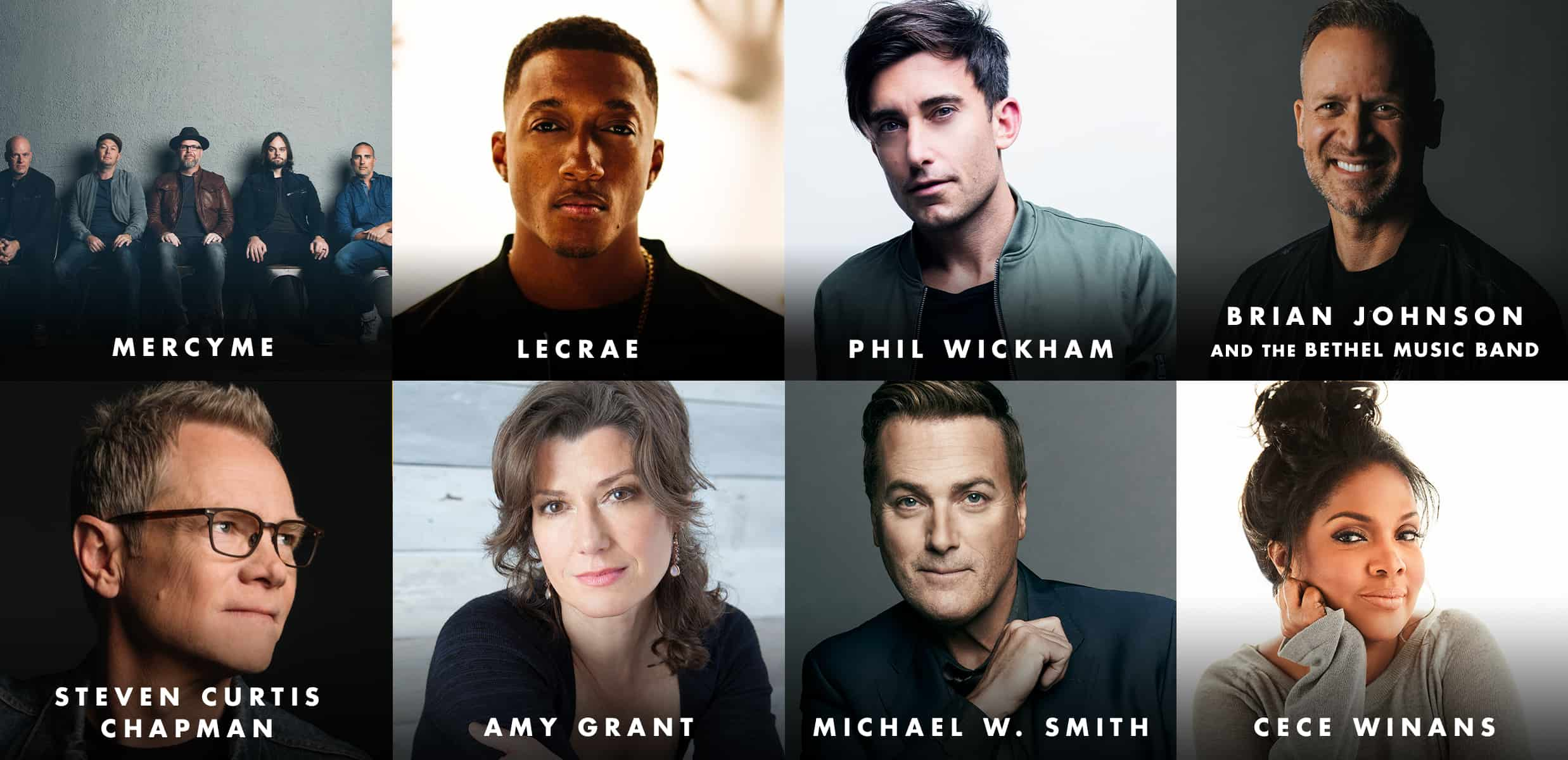 MercyMe, Lecrae, Phil Wickham, Brian Johnson And The Bethel Music Band Set To Perform At Historic 50th Annual Gma Dove Awards