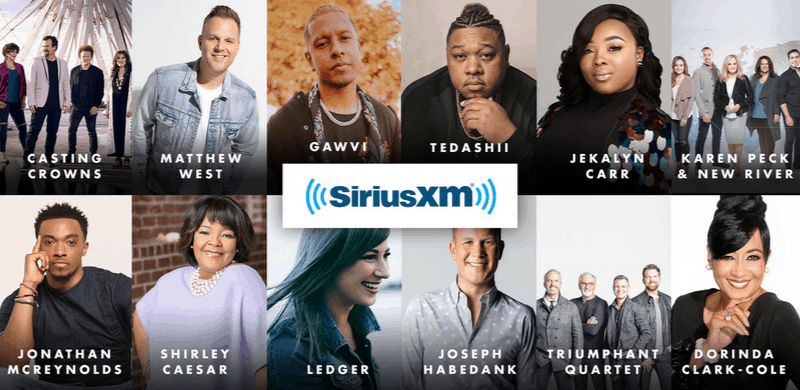 GMA Announces Complete Talent Lineup and Partnership with SiriusXM for 50th Annual GMA Dove Awards, October 15