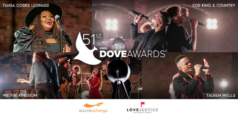 51st ANNUAL GMA DOVE AWARD WINNERS REVEALED IN EXCLUSIVE WORLDWIDE BROADCAST