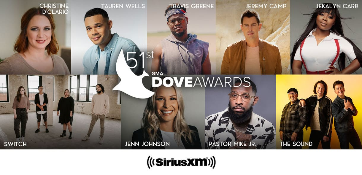 Gospel Music Association Fills Out Star-Packed Performer List For 51st Annual GMA Dove Awards