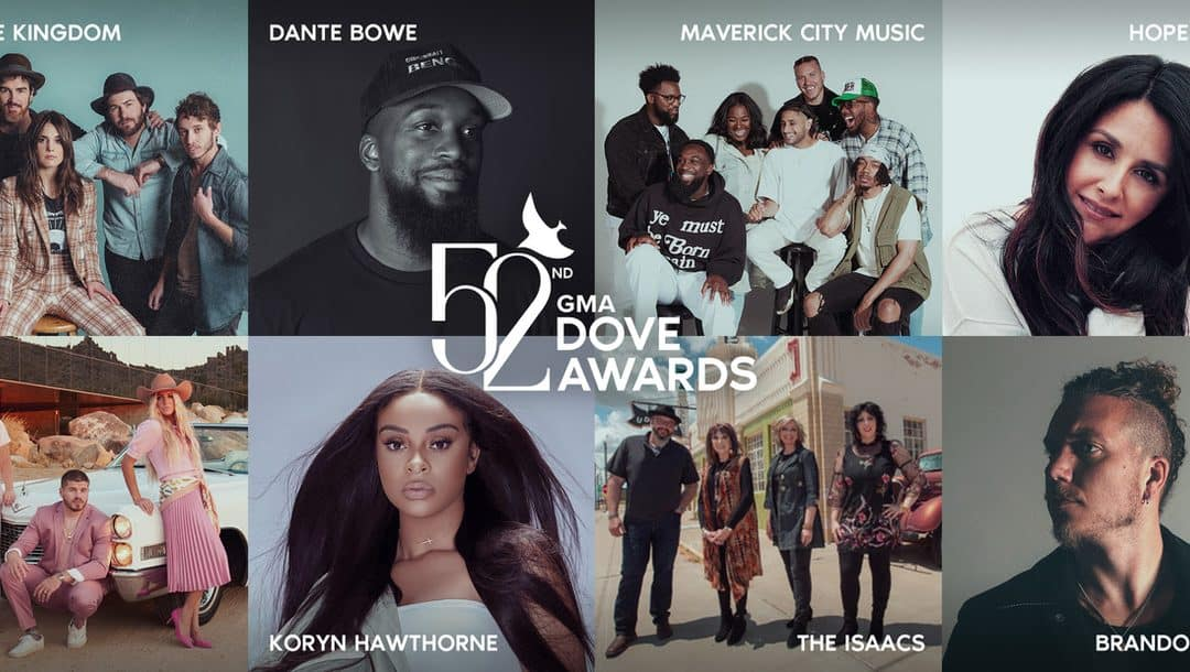 Performers Announced for 52nd Annual GMA Dove Awards